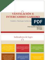 Clase 4 Ventilación e Intercambio Gaseoso