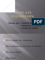 Users (Les Utilisateurs)