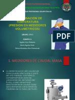 MEDIDORES VOLUMETRICOS COMPENSADOS