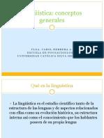 Clase 1. Conceptos Base de Linguistica