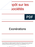 Is - Cas d'Exonérations