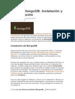 Tutorial Configuracion de MongoDB