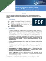 Silabus Introduccion de Proyectos 1720 S14