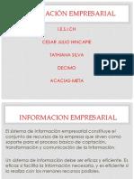 Diapositiva de Informacion Empresarial