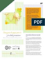 Una guía para ti y tu bebé prematuro