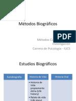 Métodos Biográficos