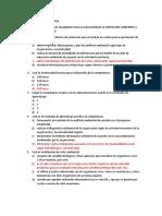 Cuestionario Competencia Administrar los recursos Asignados