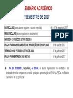 Calendario Academico 1-2017