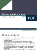 4 Formación Del Contrato