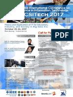 ICSITech 2017 Brochure