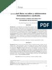 Actividad Fisica Articulo de Investigación Niños e Instrumento
