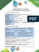 Guía de Actividades y Rúbrica de Evaluación Paso 2. Desarrollar Los Aspectos Zootécnicos Generales