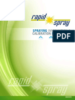 Spraying Information Calibration Procedures