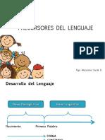 04 Precursores del Lenguaje, Etapa prelingüística