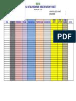 Observational Sheet (2)