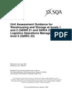 DB4489-AsesssmentGuidanceforWarehousingandStorage-Levels1and2