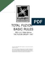 Total Fuzion 4.4.3 Core Rule Book