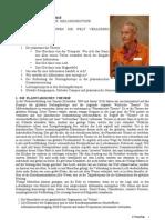 PLANETARISCHE THEORIE - DER GLOBALE PLAN DER HEILUNGSBIOTOPE