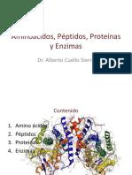 Aminoácidos, Péptidos, Proteínas y Enzimas