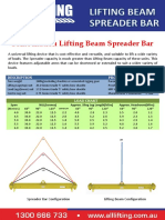 Combination-bar Lifting Beam and Spreader Beam