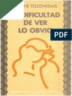 La Dificultad De Ver Lo Obvio.pdf