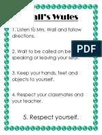 walls wules