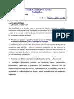 Práctica 0.- Bartola.- Estadística