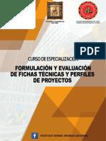 Formulación de Fichas Técnicas Setiembre 2017
