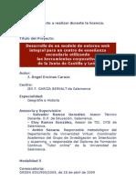 Proyecto de Licencia por Estudios. Curso 2009-2010