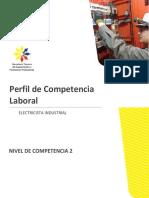 Perfil Electricista Industrial