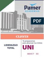 Claves Examen de Admisión Uni 2017-II
