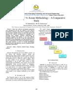 Traditional SDLC vs Scrum Methodology - A Comparative Study