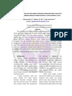Analisis Pengaruh Faktor Gesek Terhadap Pressure Drop Pada Pipa _ug