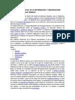 Lenguaje y Técnicas de La Información y Comunicación Trabajo i Corte