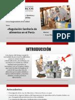Regulación Sanitaria en El Perú