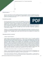 Aplicação Das Súmulas No STF __ STF - Supremo Tribunal Federal