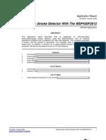 Slaa335_implement Smoke Detector With MSP430