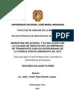 21-2015-EPAE-Salazar Flores-Marketing Relacional y Su Relacion Con La Calidad de Servicio