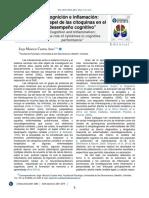 Cognición e Inflamación El Papel de La Citoquinas en El Desempeño Cognitivo