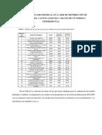 Graficos y Figuras de Evaluacion de Cloro Residual