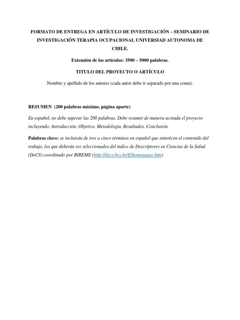 Dorable Terapia Ocupacional Resume Objetivo Friso - Colección De ...