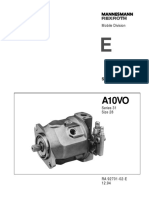 A10VO 31 Series Size 28_Service Parts List