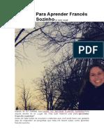 Material Para Aprender Francês Sozinho12 Min Read