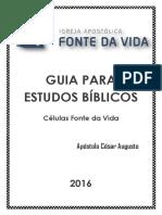Guia Para Estudos Bíblicos Lição 4