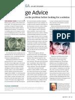 Case Study Idea Some Sage Advice