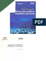 Hacia una Política Científica Nacional. (O Varsavsky).pdf