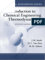 Introduction to Chemical Engineering Thermodynamics - 7th Ed - Smith, Van Ness & Abbot