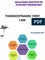 Chapter 5 Thermodynamic First Law