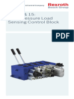 M4-12 & 15;High Pressure Load Sensing Control Block