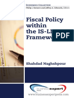 Naghshpour, Shahdad Fiscal Policy Purposes, Practices, Effectiveness